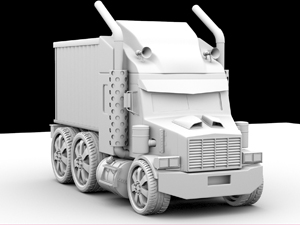 Truck - 3DS Max